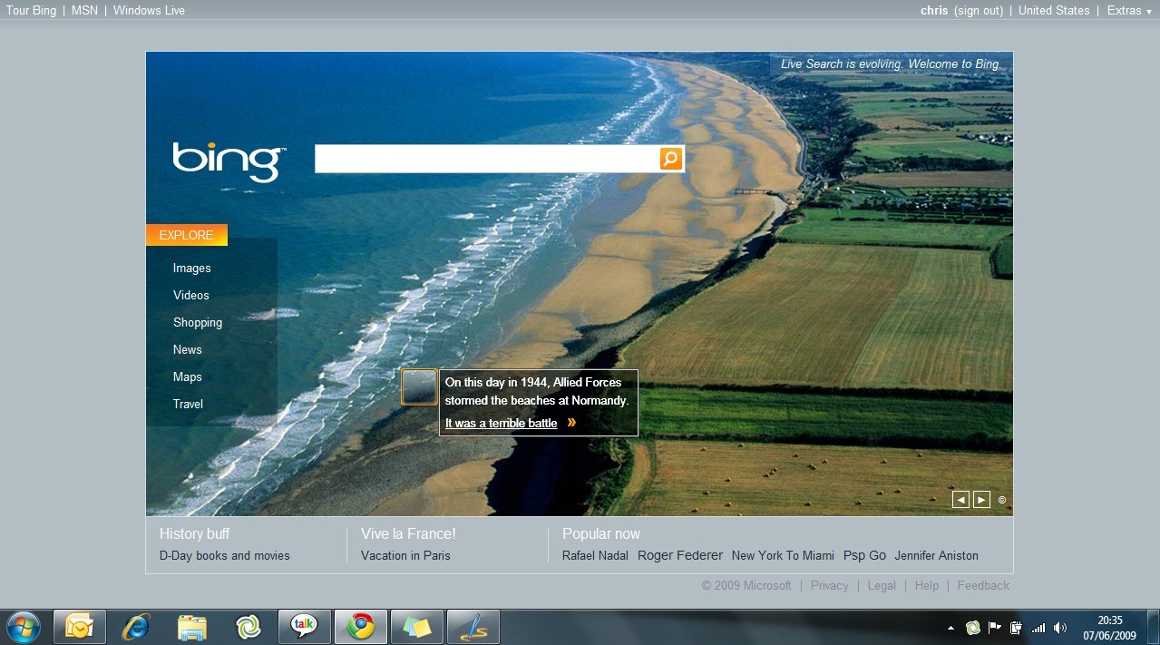 Microsoft Bing Info And Ads – Chris Rawlinson
