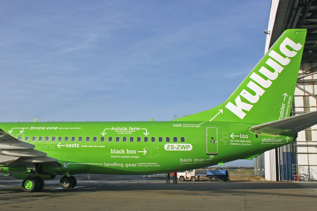Kulula Airlines: Flying 101 livery