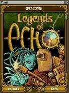 Legends of Echo welcome screen